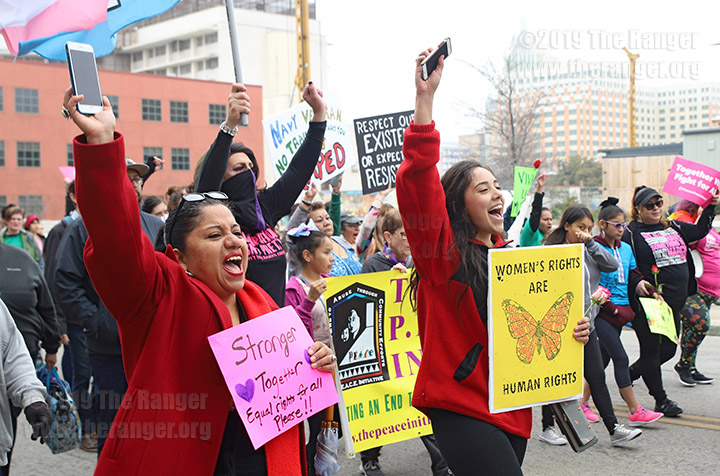 29th annual San Antonio International Women's Day March, March 2, 2019