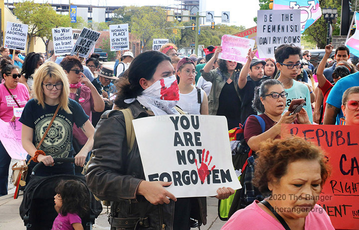 30th annual San Antonio International Women's Day March, March 8, 2020