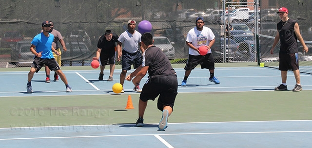 Dodgeball tournament - April 27, 2016