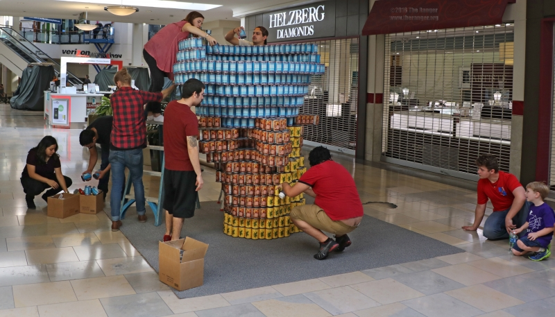 Canstruction- Sept.11, 2016