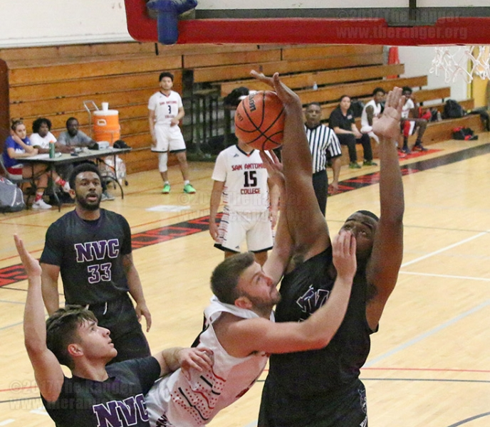 Men's Basketball Game, March 22, 2017.