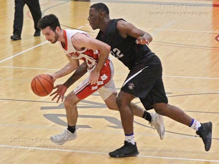 Men's Basketball Game: Oct. 18, 2017.