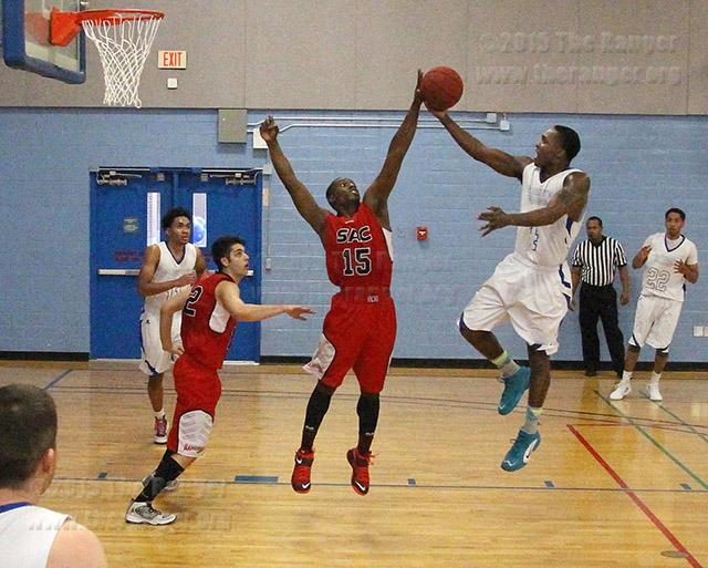 Men's basketball playoffs - March 25, 2015