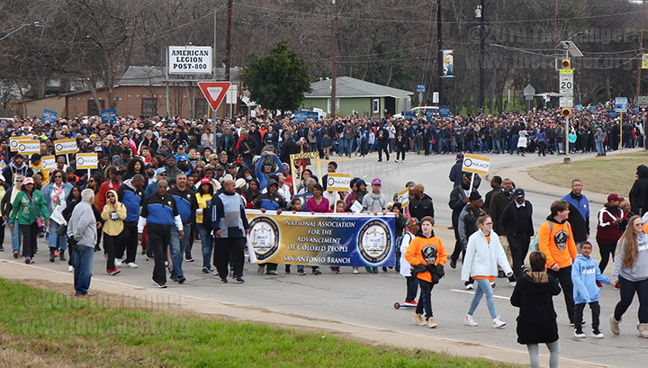 MLK March Jan. 21, 2019