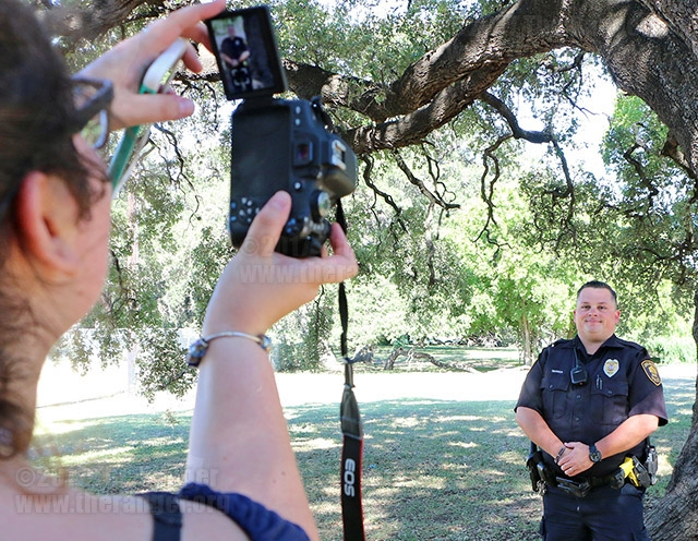 SAPD Portrait Sessions: July 8, 2017.