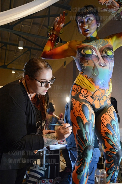 Texas Body Paint Competition: Nov. 10, 2018