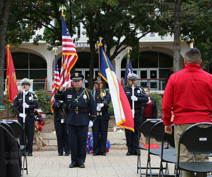 Veterans Day Ceremony: Nov. 9, 2017