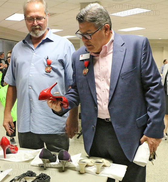Walk a Mile in Her Shoes March: April 11, 2017.