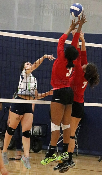 Women's Volleyball Game, March 23, 2017.