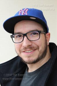 Journalism freshman Carlos Ferrand