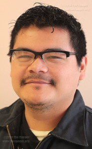 Journalism freshman Christopher Hernandez.