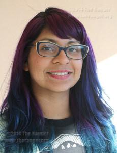 Journalism sophomore Adriana Ruiz