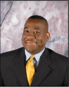 Complimentary photo of Curtis O. Hill, vice president of student services  for Paris Junior college in Paris, Texas and candidate for the vice president for student success.