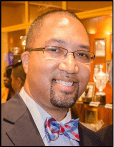 Complimentary photo of Gregory McLeod, provost and executive director of the St. Augustine campus of St. Johns River State College in Florida and candidate for the vice president for student success.