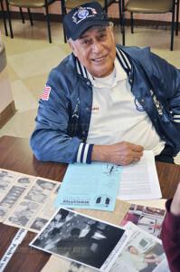 Veteran and graduate Valentin Martinez
