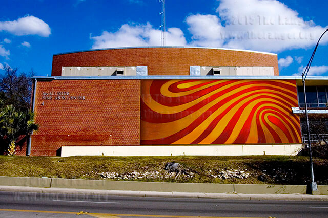 A $70,000 mosaic will decorate McAllister.  Courtesy