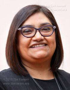 Nora Lopez, San Antonio Express News Metro Editor Oct. 9 in Gonzales.