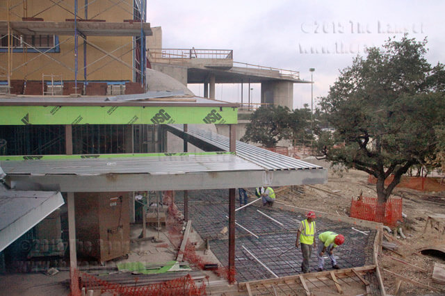 Construction is in progress Sept. 11 on Scobee Planetarium and Challenger Learning Center.  File