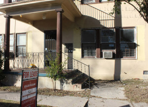 This basic multifamily home starts at $700 for two beds, two baths and $550 for two beds, one bath. There is no central air conditiong, but window units are provided. Amenities are not included and residents park in a gravel lot on the street.  Paula Christine Schuler