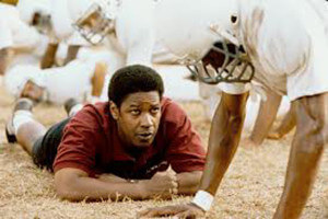 "Denzel Washington portrays Herman Boone in ""Remember the Titans.""  Courtesy"