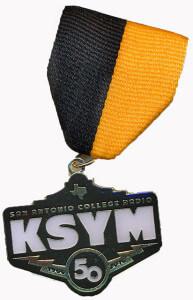 KSYM Fiesta medal
