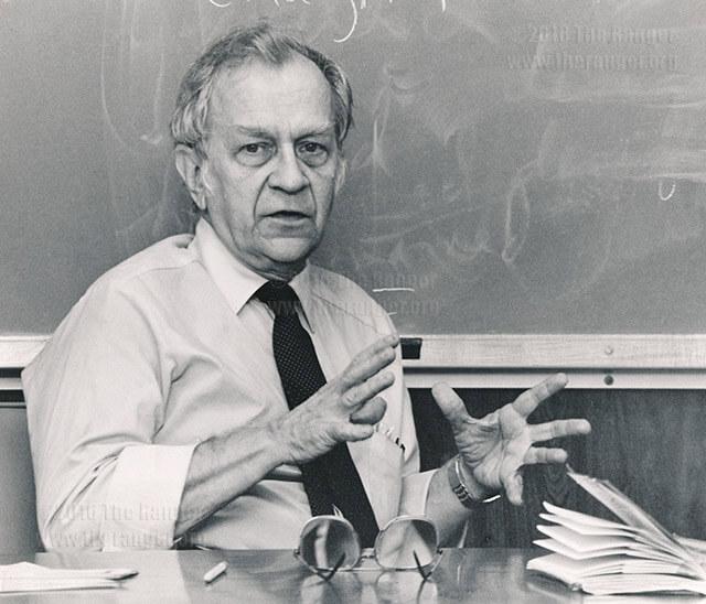 John Cotton Books: English Faculty To Discuss Plans To Honor Professor Emeritus