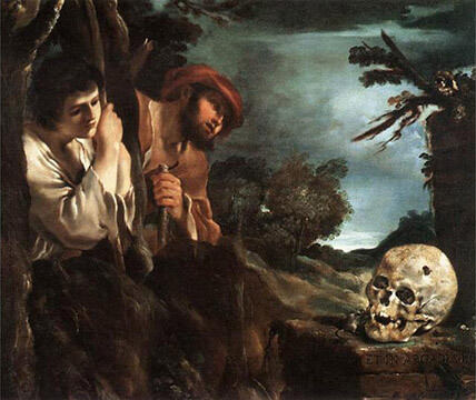"""Death in Arcadia"" Courtesy Guercino"