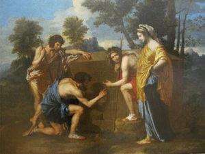 """""""Et in Arcadia Ego""""  Courtesy Nicolas Poussin"""