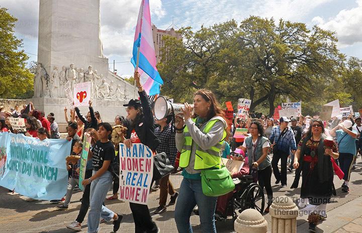 30th annual San Antonio International Women's Day March, March 8, 2020