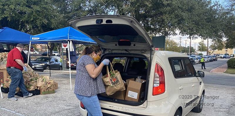Food Bank drive-through event Nov. 5, 2020