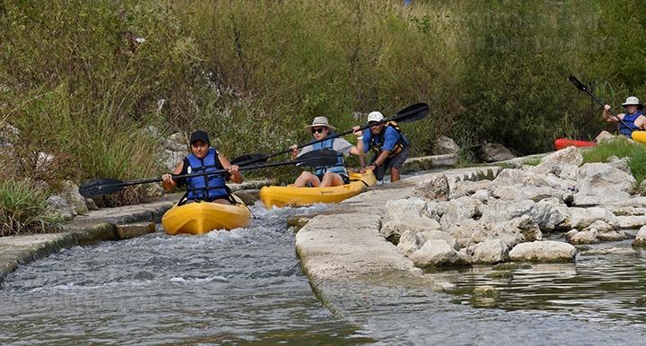 Kayaking: Oct. 21, 2017.