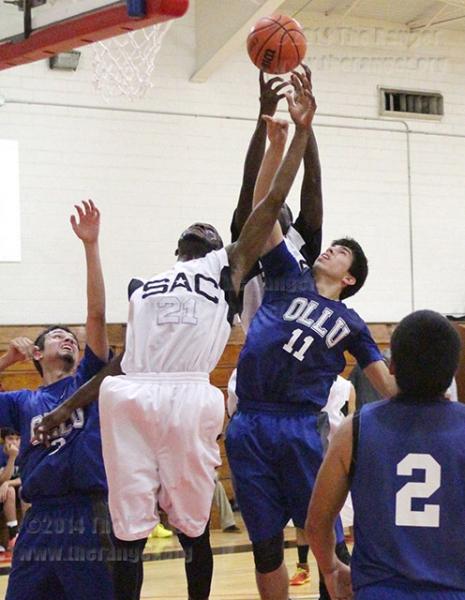 Men's basketball Nov. 5, 2014